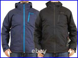 Under Armour Prime Jacket 3-in-1 Insulated Mens M-L-XL-2XL Black/Blue UA Winter