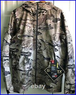 Under Armour Storm Proof Loose Goretex Barren Camo Shell Jacket Men's M 1316962