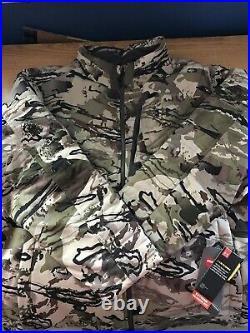 Under Armour Timber Hunting Jacket Ridge Reaper Barren Camo 1316734-999 Sz XXL