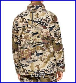 Under Armour UA GRIT Fleece Scent Control Storm Men's Barren Camo Hunt Jacket