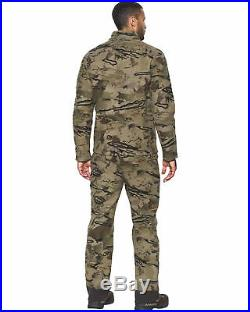 Under Armour Wool Military Barren Camo Ridge Reaper Mid Season Hunting Jacket S