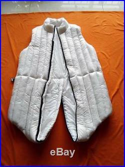 Unisex Shiny Glossy nylon wet-look down bodysuit jumpsuit jacket soft customize