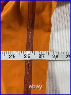 Vintage Arcteryx Theta AR Gore-Tex XCR Hard Shell Jacket Gumbo Orange Mens XL