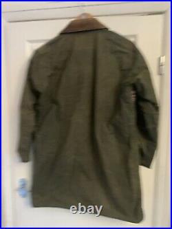 Vintage Barbour Gamefair 38 Waxed Hunting Jacket