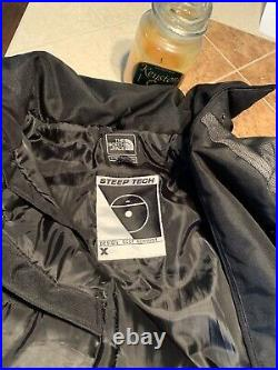 Vintage TNF North Face Red Steep Tech Moto Jacket sz X Large 2012 supreme