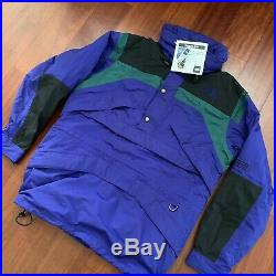 Vintage The North Face Mountain Arc Anorak Jacket NWT Sz L Rare Outdoor Active
