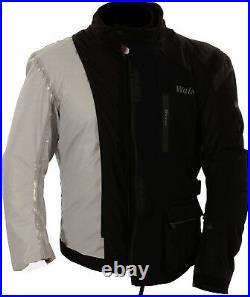 Weise Onyx Mens Black Waterproof Textile Motorcycle Jacket New