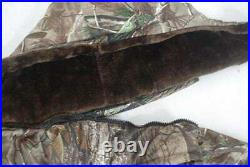 Winter Warm Padded Camouflage Suit Waterproof Thicken Real Tree Hunting Clothes