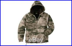 XL Cabela's Men's Outfitter Wooltimate Hooded Pullover Hunting Camo Jacket