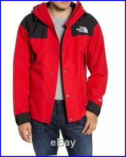 XL The North Face Red Tnf 1990 Mountain Jacket Parka Men's Gore-tex Gtx New